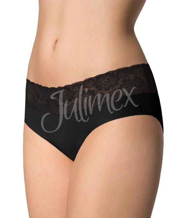 Majtki hipster z koronką Julimex czarne