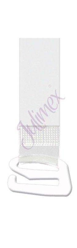 Ramiączka silikonowe Julimex metalowy haczyk 16 mm